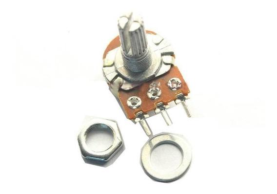 Potenciômetro Wh148 B50k C/ Eixo De 15 Mm - Ac0261