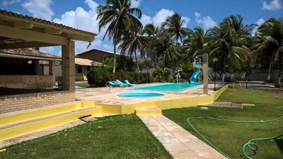 Chácara Com 11 Dormitórios Para Alugar, 11000 M² Por R$ 8.000,00/mês - Lagoa Do Bonfim - Nísia Floresta/rn - Ch0008