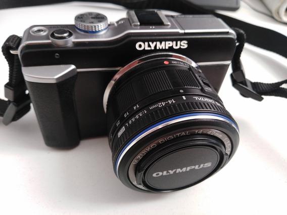 Cámara Digital Olympus Epl1 Ideal Estudiantes De Fotografía