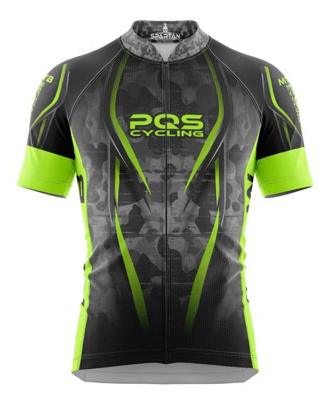 Camisa Mtb Ciclista Spartan New M/c (f) Ref 04 - Uv 50+