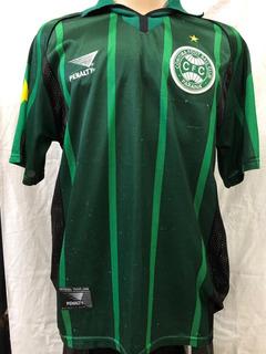Camisa Oficial Coritiba - Penalty 1998 Rara - Usada S/patroc