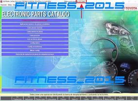 Toyota Epc Despiece Partes Catalogo 2016.08 Español Nuevo!