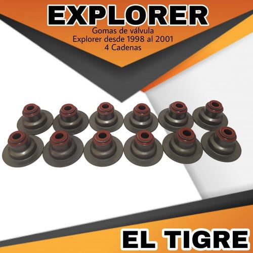 Gomas De Valvula Explorer 4 Cadenas  98/01 M11 El Tigre