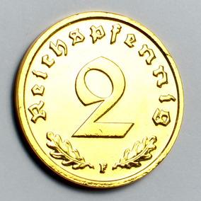 Moeda De Ouro 24 K Alemana 1939