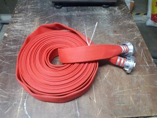 Manguera Incendio Roja 2 Pulg 30 Metros