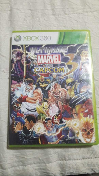 Ultimate Marvel Vs Capcom 3 Xbox 360 Mídia Fisica