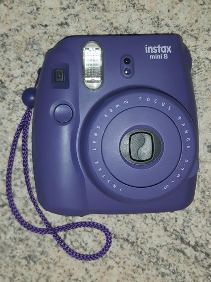 Câmera Instantânea Instax Mini 8 Roxa Fujifilm