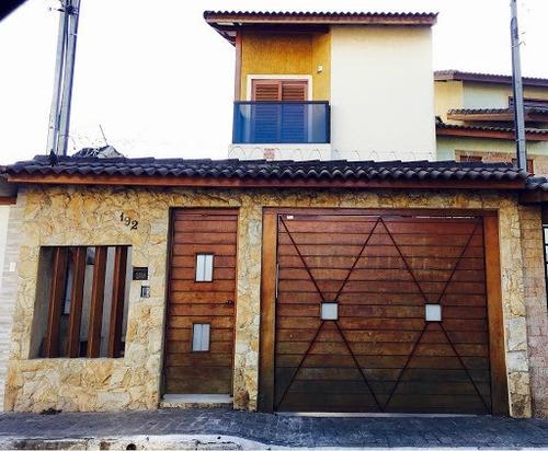 Sobrado Com 3 Dormitórios À Venda, 180 M² Por R$ 750.000,00 - Jardim Aida - Guarulhos/sp - So0253