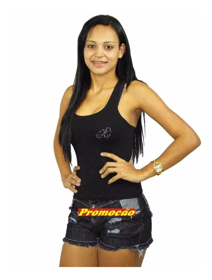 Short Jeans Curto Desfiados ( Lote 10 Und ) R$ 19,90 Cada