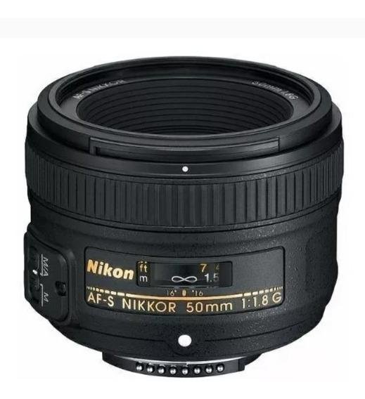 Lente Nikon Af-s 50mm 1.8g