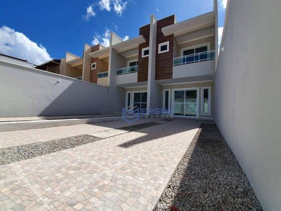 Casa Com 3 Dormitórios À Venda, 110 M² Por R$ 245.000 - Mondubim - Fortaleza/ce - Ca0943