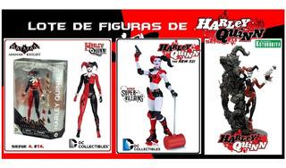 Harley Quinn: Lote De 3 Figuras. Dc Collectibles. Originales