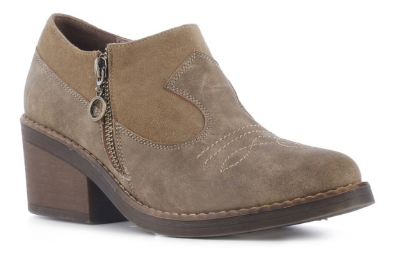 Zapato Dama Miss Carol Estilo Tejano 146.w80720070