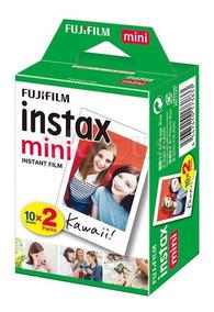 Filme Instantâneo Fuji Instax 8 9 Kit Com 40 Fotos + Brinde