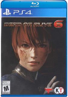 Dead Or Alive 6 Ps4 Nuevo Fisico Sellado