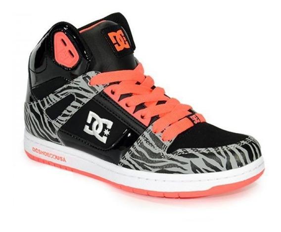 Zapatillas Dama Dc Rebound High Se // Urbanas // Envios