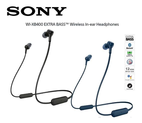 Promoção - Fone Sony Extra Bass Wi-xb400 Wireless Bluetooth