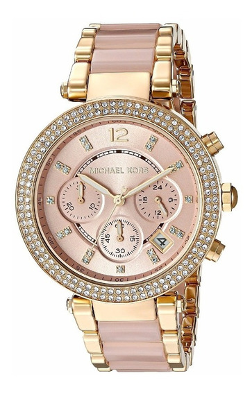 Relógio Michael Kors Mk6326 Parker Crystals Chronograph