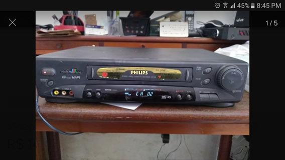 Video Cassete Philipis Hifi Vr756 Funciona Normal