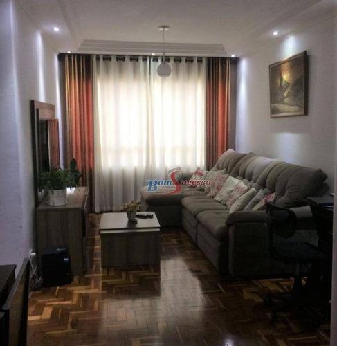 Imagem 1 de 26 de Apartamento Com 3 Dormitórios À Venda, 100 M² Por R$ 550.000,00 - Chácara Mafalda - São Paulo/sp - Ap1882