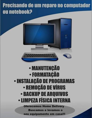 Imagem 1 de 6 de Assistência Em Computadores E Notebooks