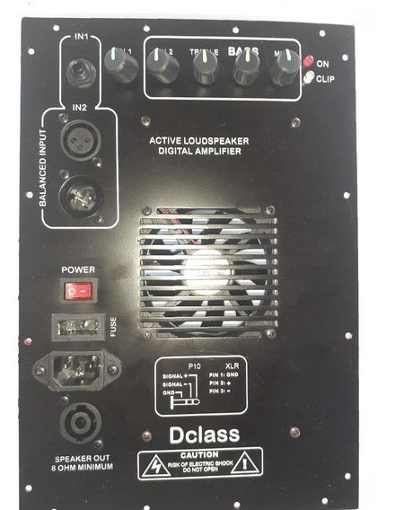 Painel Amplificador Ativador Multivias 500 Pg Watts Rms