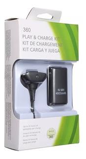 Kit Carga Y Juega Para Control Xbox 360.