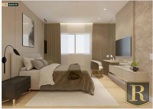 Apartamento Para Venda Em Guarapuava, Santa Cruz, 3 Dormitórios, 1 Suíte, 2 Banheiros, 2 Vagas - _2-1136428