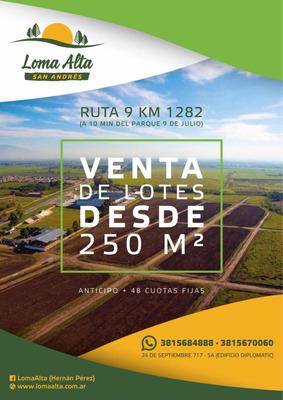 Terrenos En Barrio Semi Privado. Loma Alta- San Andrés