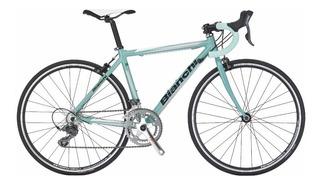 Bicicleta Bianchi Claris D2 Junior 16 Speed Aluminio