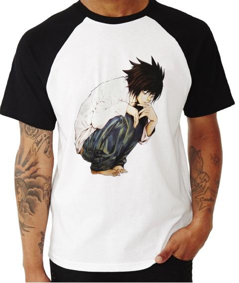 Camisa Camiseta Death Note Anime Ref 05