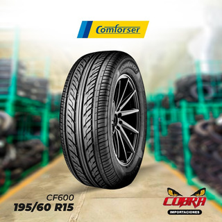 Llantas 195/60 R15 Comforser Cf600 Con Garantía