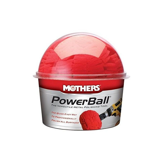 Mothers 05140 Powerball Herramienta De Pulido De Metales