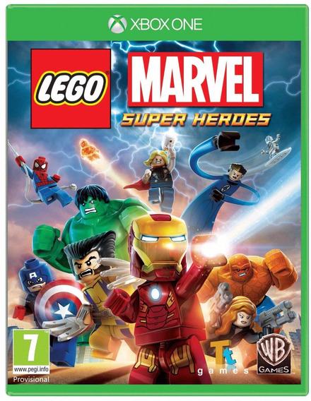Lego Marvel Super Heroes Xbox One - Código 25 Dígitos