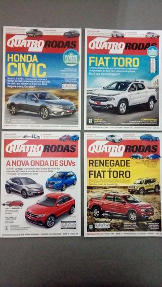 Revista Quatro 4 Rodas Ano 2016 + Brindes