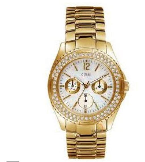 Relogio Feminino Guess Dourado L16014l1 Original Importado Miami
