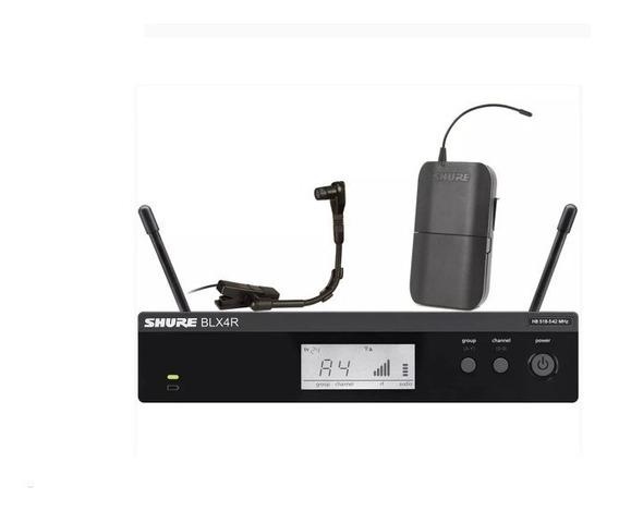 Microfone Sem Fio Instrumentos Blx14 Rbr Beta-98 Hc Shure