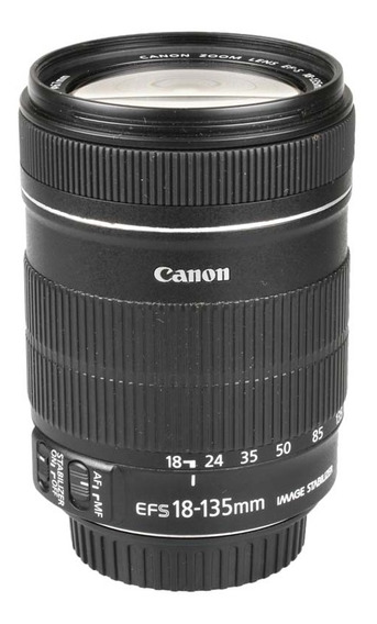 Objetiva Canon Ef-s 18-135mm F3.5-5.6 Is