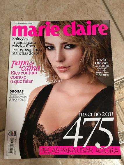 Revista Marie Claire 240 Paola Oliveira Ricardo Pereira D671