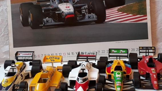 Carros Formula 1 Burago Escala 1/24