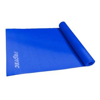 Colchoneta Yoga Mat Pilates Fitness 6 Mm De Pvc Enrollable