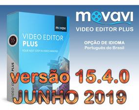 Ativação Patch Movavi Video Editor Plus 15.4.0 Junho 2019