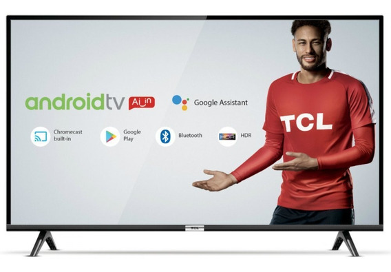 Smart Tv Tcl Led 43 Polegadas Full Hd Hdr 4356500