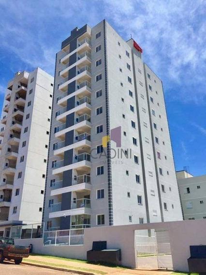 Apartamento À Venda Com 2 Quartos No Bairro Cancelli - Cascavel/pr - Ap0391
