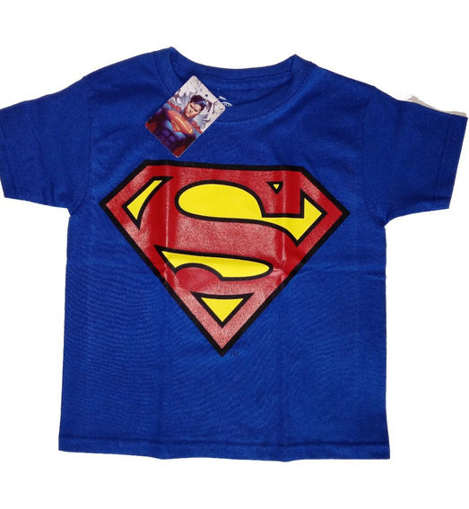Playera Niño Batman Superman Dc Comic Original