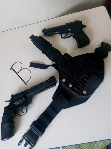 Funda Piernera Muslera Para Pistola O Revolver