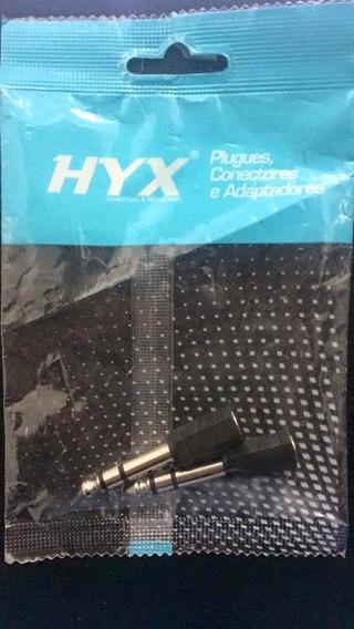 Adaptador P10 X P2 Stereo Hyx Pct 02unidades