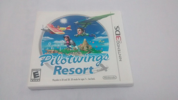 Pilotwings Resort (americano, Completo) 3ds