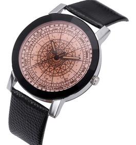 Relógio Personalizado Química / Signos Em Couro Em Oferta