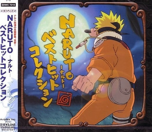 Imagen 1 de 3 de Cd Original Naruto Best Hit Collection Gastovic Anime